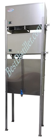 Fully automatic high capacity distilled water system model TC-507